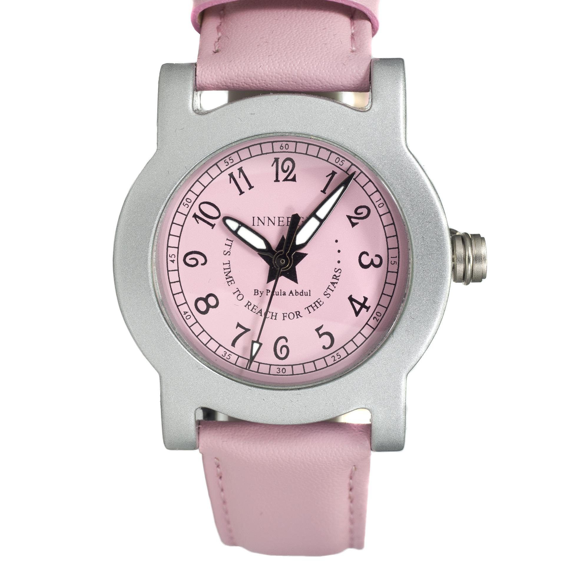 Innergy Swiss Made Timepiece Pink Leather Strap