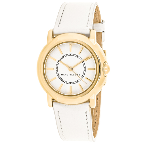 MJ1449 Marc Jacobs Womens Courtney White Band White Dial