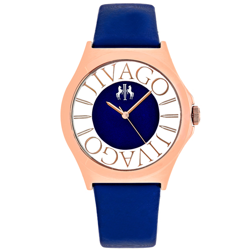 JV8435 Jivago Womens Fun Blue Band Blue Dial