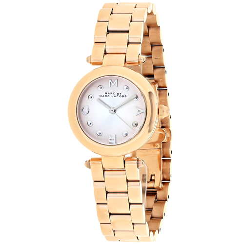 MJ3452 Marc Jacobs Womens Dotty Rose gold Band Pink Dial