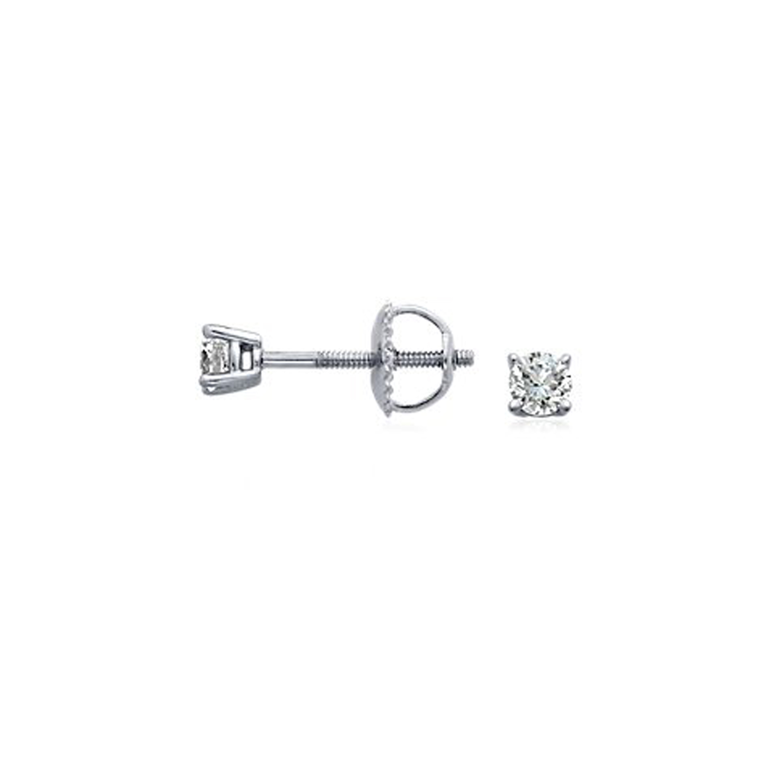 solitare25 14K YG OR WG  0.25 CT DIAMOND SOLITAIRE RING  SI  G TO H  IN COLOUR