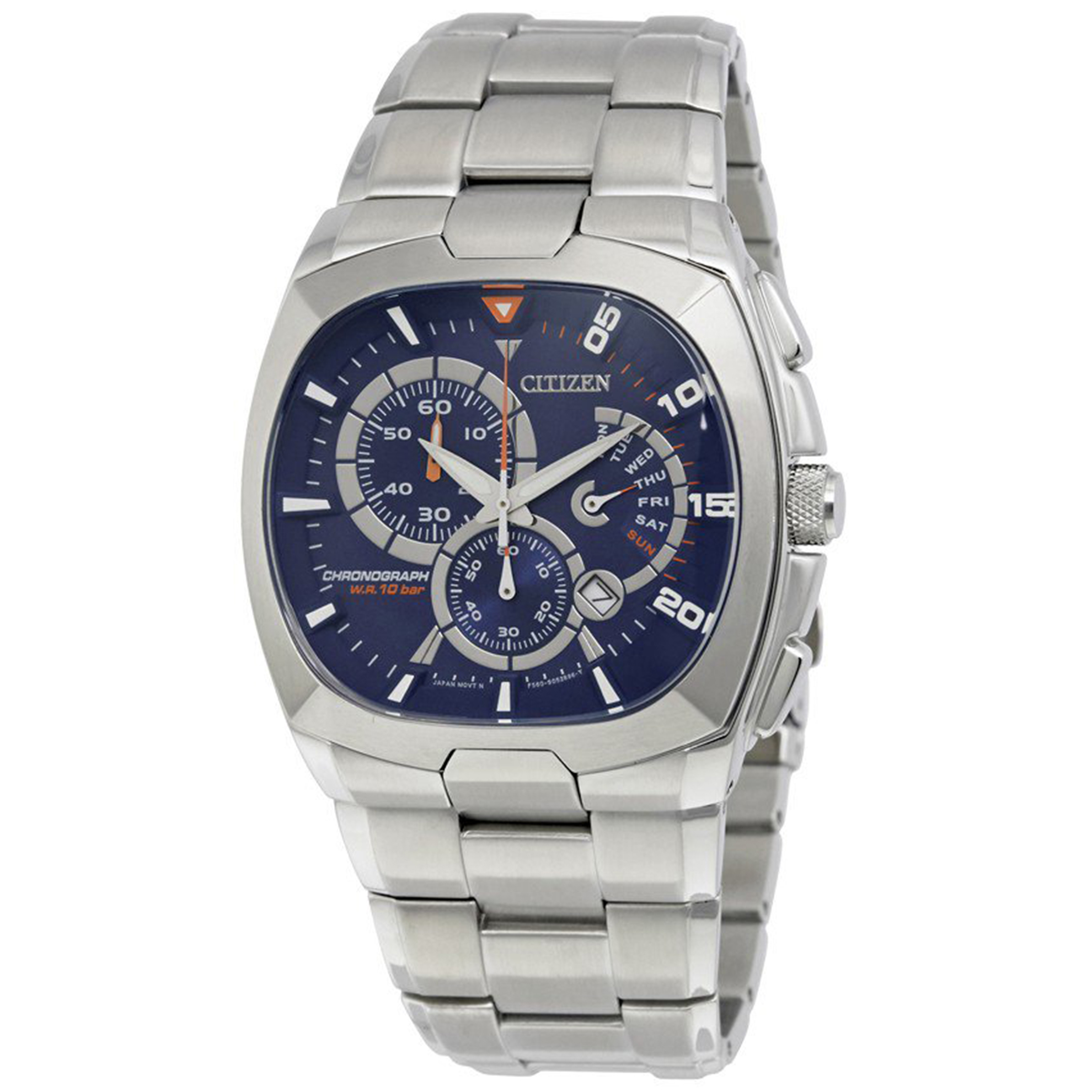 Citizen AN9000-53M Citizen Classic Day/Date Chronograph Blue DIal