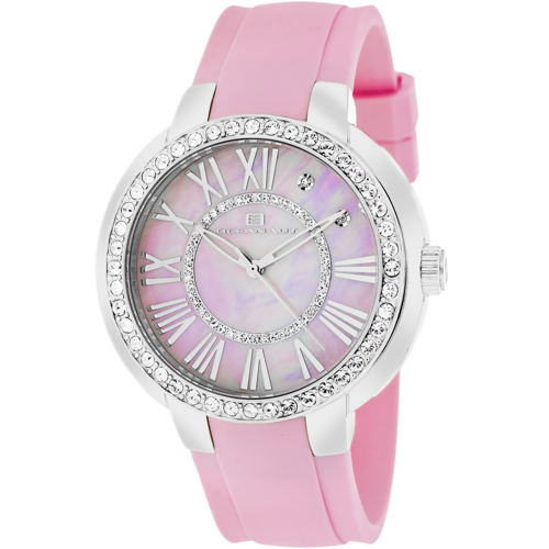 OC6419 Oceanaut Womens Allure Pink Band Pink mother of pearl Dial