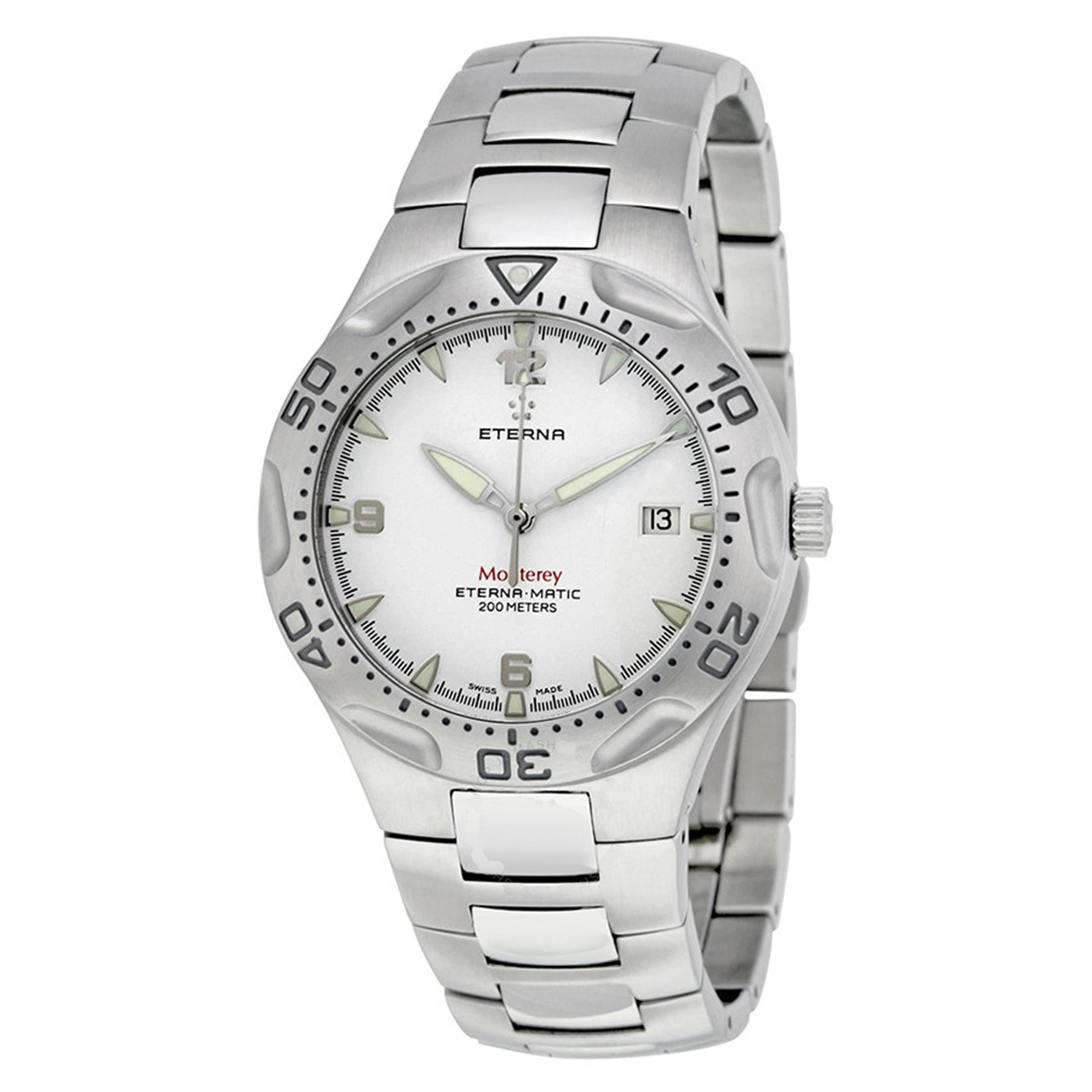 1610.41.10.0165 Eterna Monterey Swiss Made Automatic Silver DIal