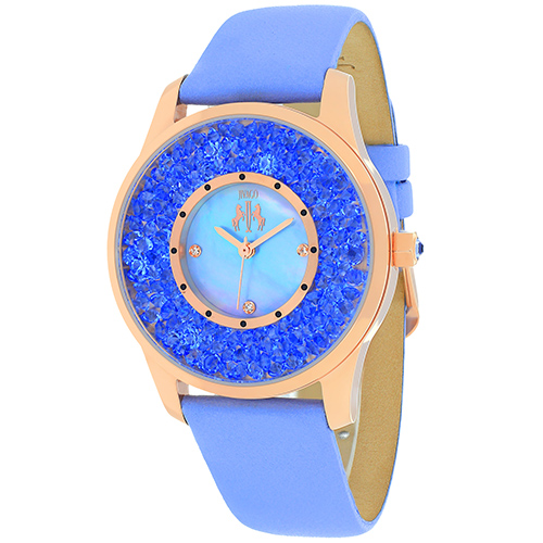 JV3418 Jivago Womens Brillance Lavander Band Blue Dial
