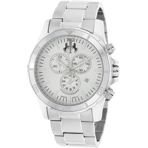 JV6121 Jivago Mens Ultimate Silver Band Silver Dial