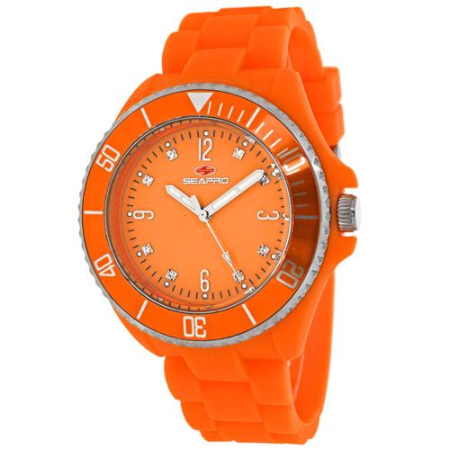 SP7415 Seapro Womens Sea Bubble Orange Band Orange Dial