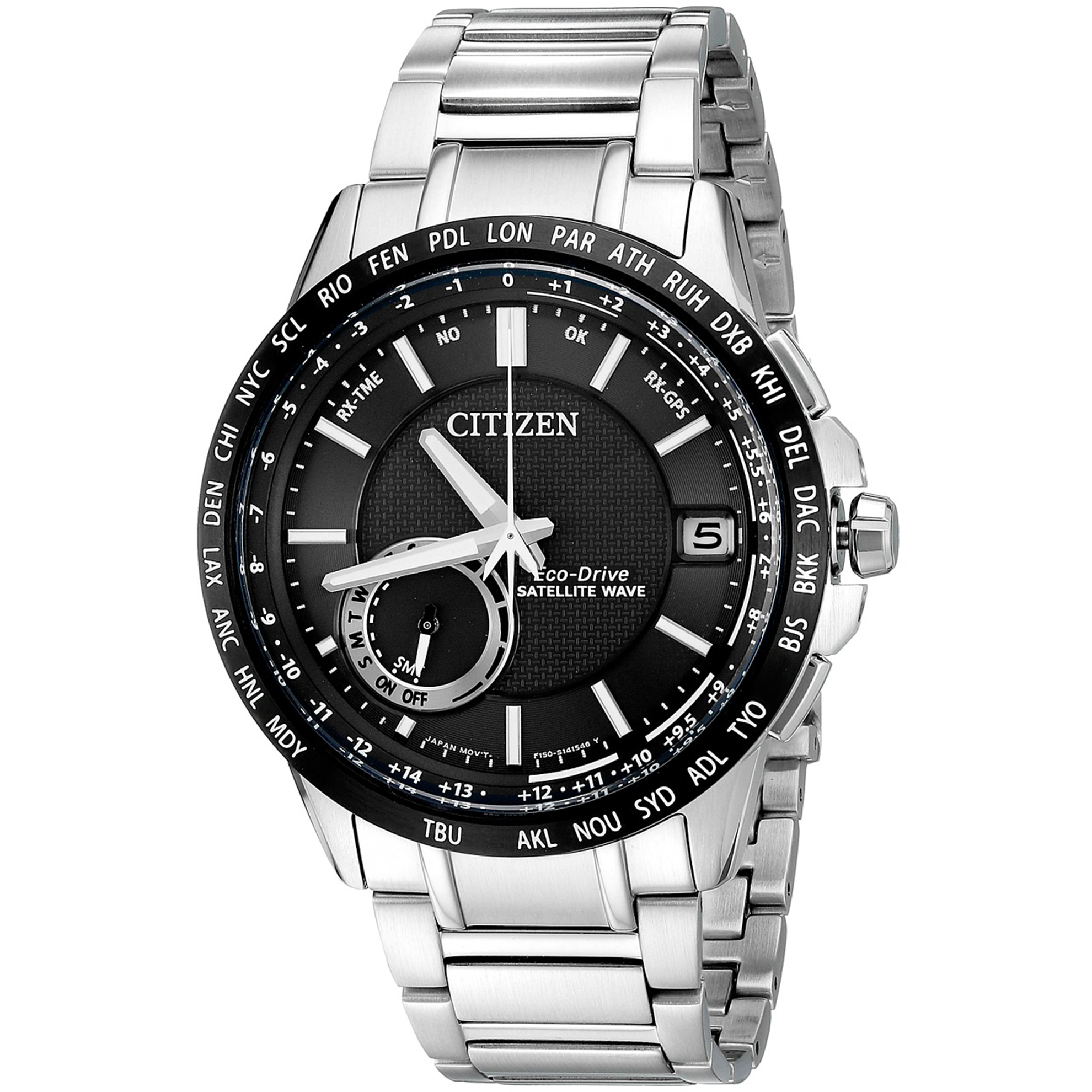 CC3005-85E Citizen SATELLITE WAVE - WORLD TIME GPS CC3005-85E