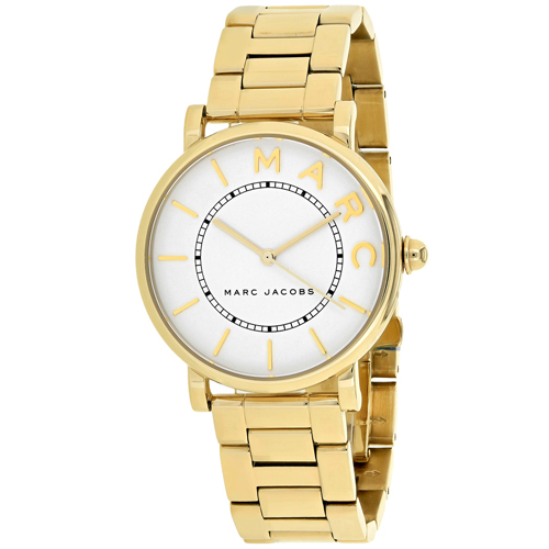 MJ3522 Marc Jacobs Womens Roxy Gold Band White Dial