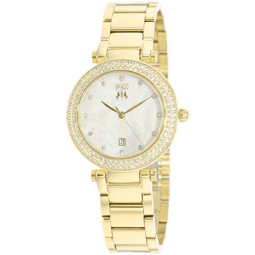 JV5311 Jivago Womens Parure Gold Band White Mother of Pearl Dial