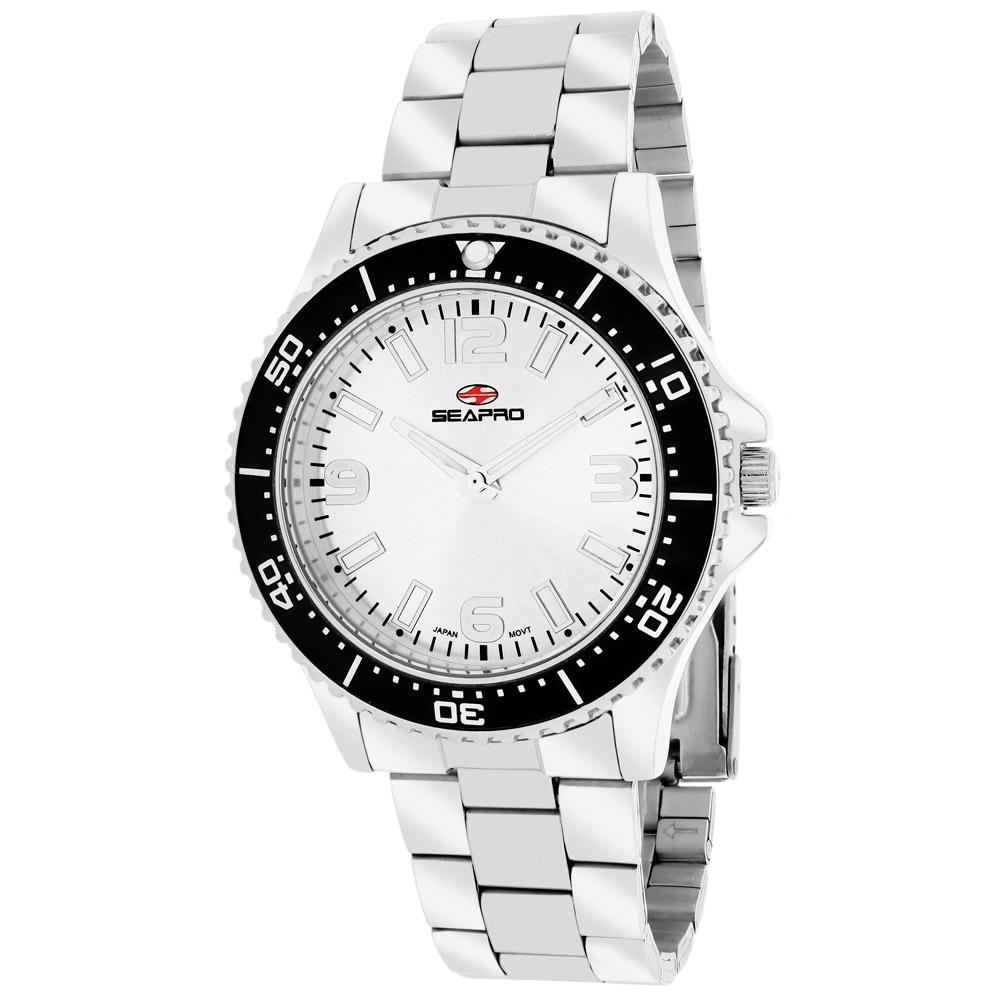 SP5410 Seapro Womens Tideway Silver Band White Dial