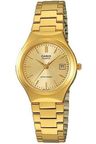 LTP-1170N-9A Casio Womens Classic Quartz Gold Band Gold tone Dial