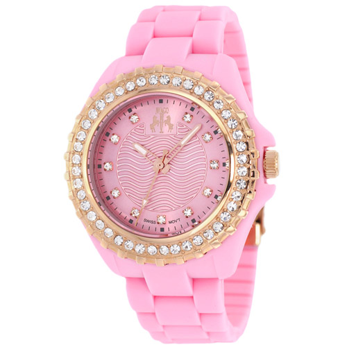 JV8216 Jivago Womens Cherie Pink Band Pink Dial