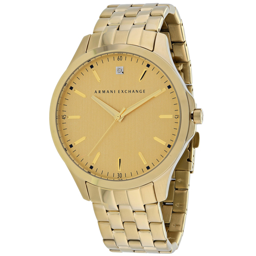 AX2167 Armani Exchange Mens Classic AX2167 Quartz Gold tone Band Gold tone Dial