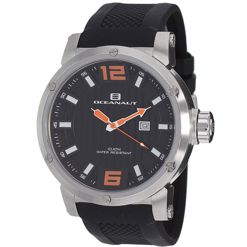 OC2113 Oceanaut Mens Spider Black Band Black Dial