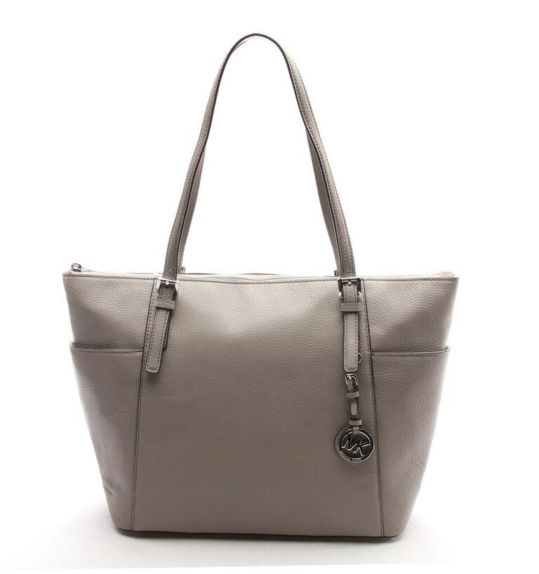 2e93007f9a0805 Michael Kors 35H6STTT9L-PEARL GREY Handbags JET SET ITEM LARGE EW TZ TOTE  ...