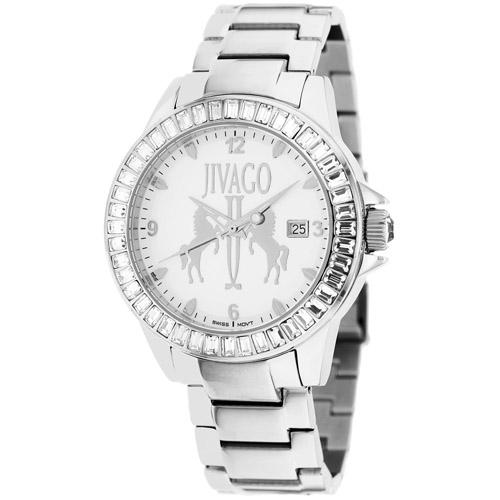 JV4215 Jivago Womens Folie Silver Band White Dial