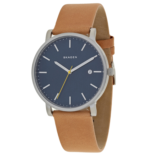 SKW6279 Skagen Men s Hagen Brown Band Blue Dial
