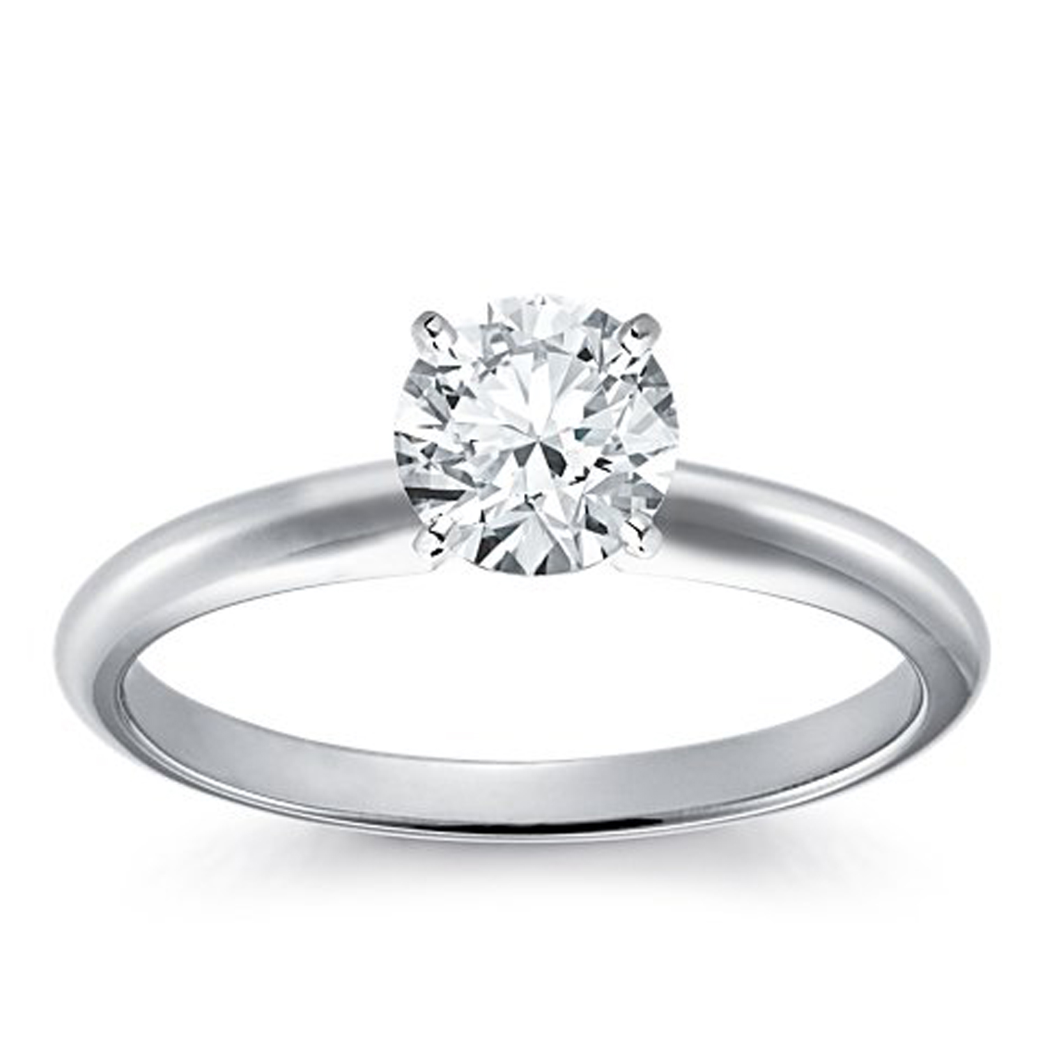 SOLITARE100 14K YG OR WG  1.0 CT DIAMOND SOLITAIRE RING I1  G TO H  IN COLOUR WITH CERTIFICATE