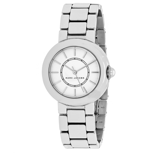 MJ3464 Marc Jacobs Womens Courtney Silver Band Silver Dial