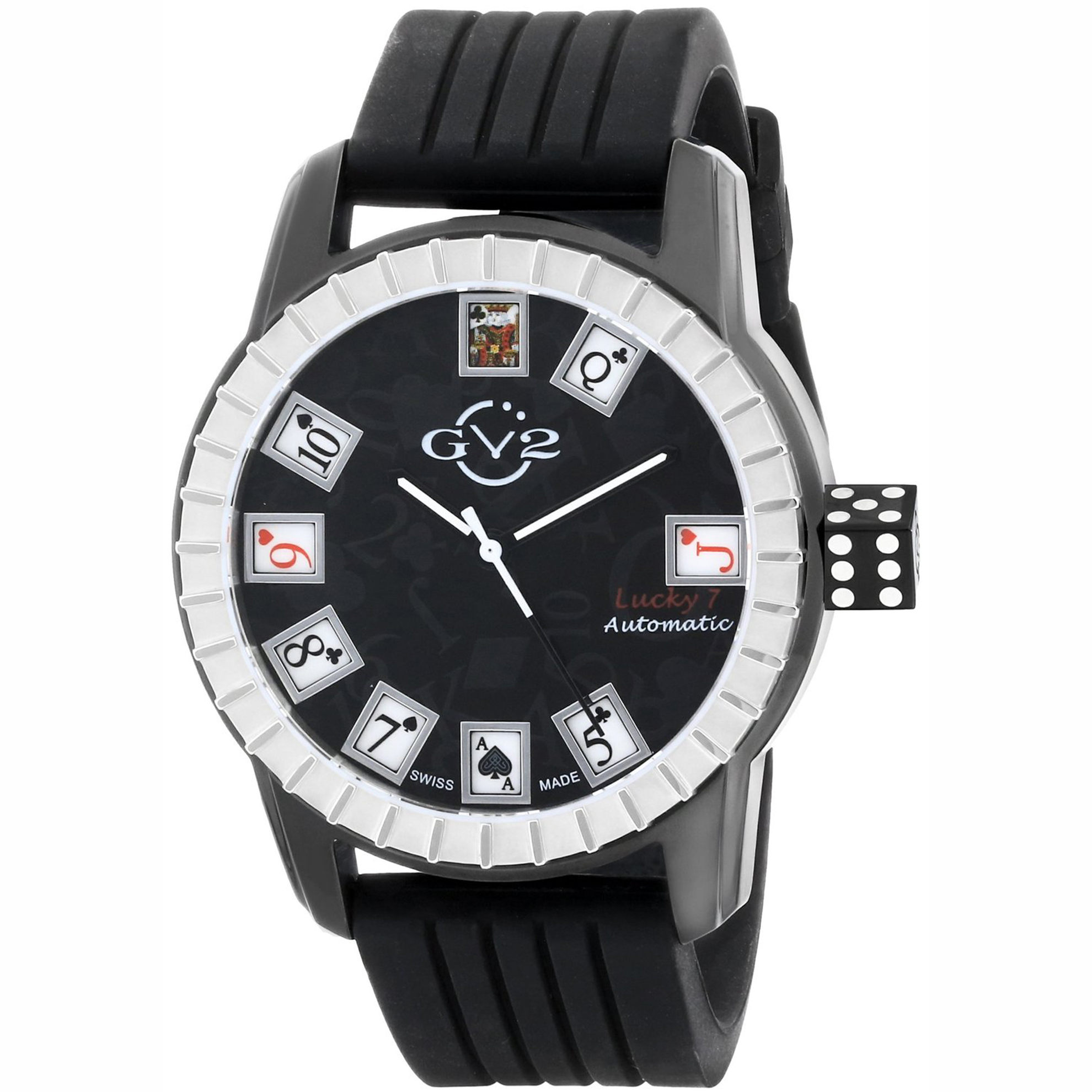 GV2 by Gevril 9301 GV2 by Gevril Limited Edition Swiss Made Automatic Silver/Black