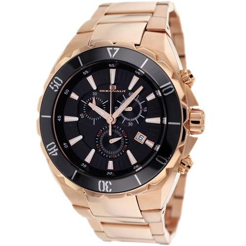 OC5126 Oceanaut Seville Swiss Chronograph Rose Gold Black Dial