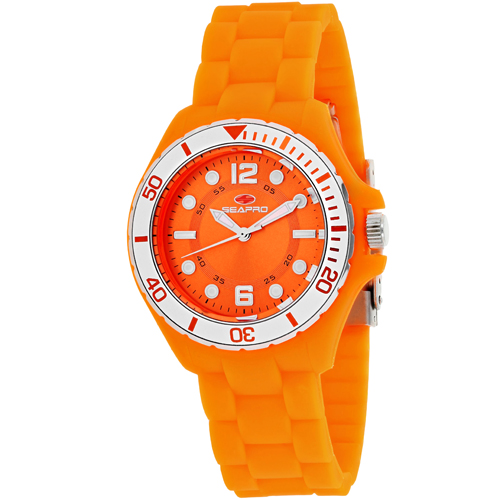 SP3218 Seapro Womens Spring Orange Band Orange Dial