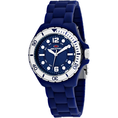 SP3217 Seapro Womens Spring Blue Band Blue Dial