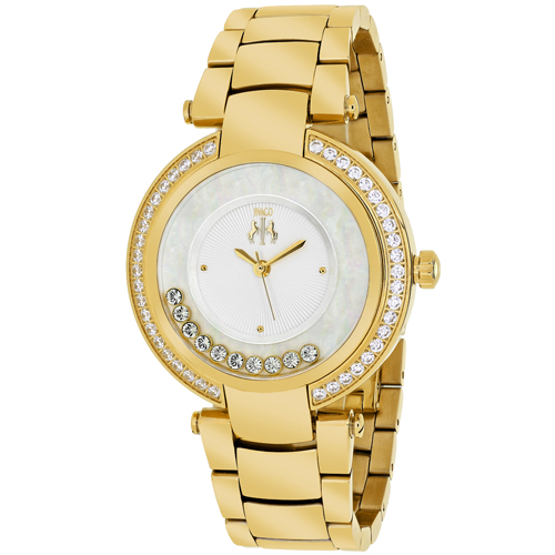 JV1612 Jivago Womens Celebrate Gold tone Band Silver Dial