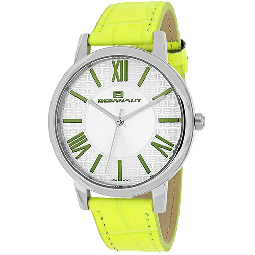 OC7213 Oceanaut Womens Moon Apple green Band White Dial