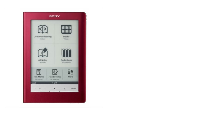 PRS600R Sony PRS600 Digital Reader Touch eBook Red-