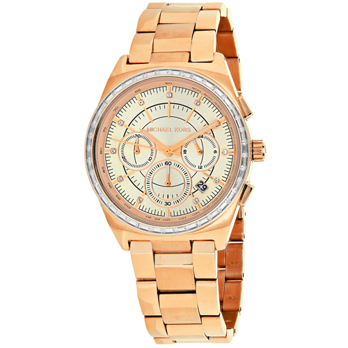 MK6422 Michael Kors Womens Vail Rose gold Band Rose gold Dial