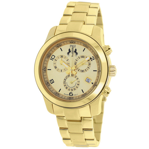 JV5221 Jivago Womens Infinity Gold Band Gold Dial