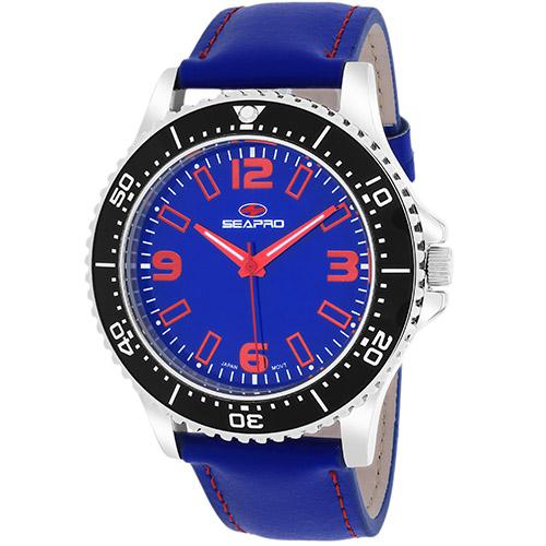 SP5313 Seapro Mens Tideway Blue Band Blue Dial