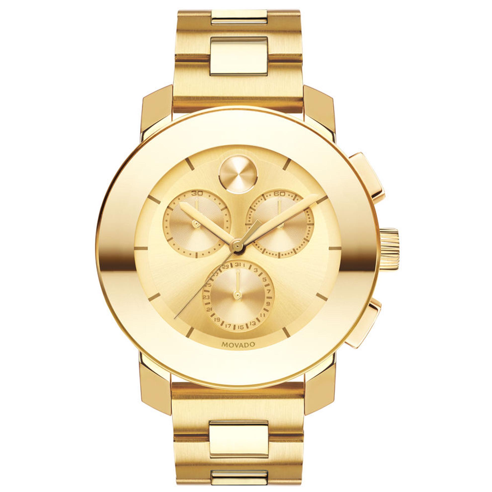 Movado 3600358 Movado BOLD Chronograph All Gold