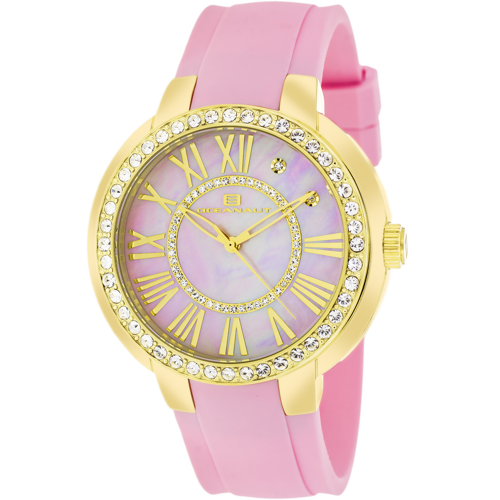 OC6418 Oceanaut Womens Allure Pink Band Pink mother of pearl Dial