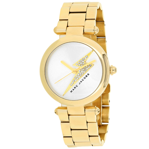 MJ3545 Marc Jacobs Womens Dotty Gold Band Silver Dial