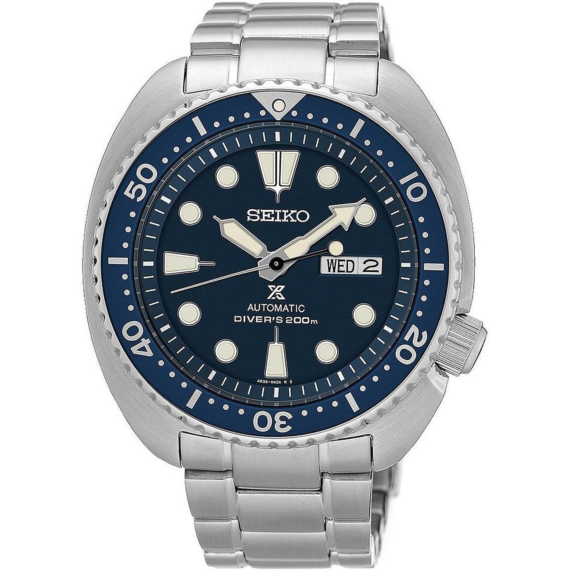 Seiko SRP773K1 Seiko Turtle Diver Automatic Stainless Steel Blue Dial