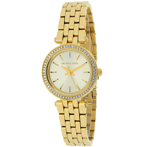 MK3295 Michael Kors Womens Mini Darci Gold tone Band Gold Tone Dial