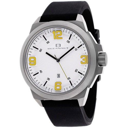 OC7118 Oceanaut Mens Armada Black Band White Dial
