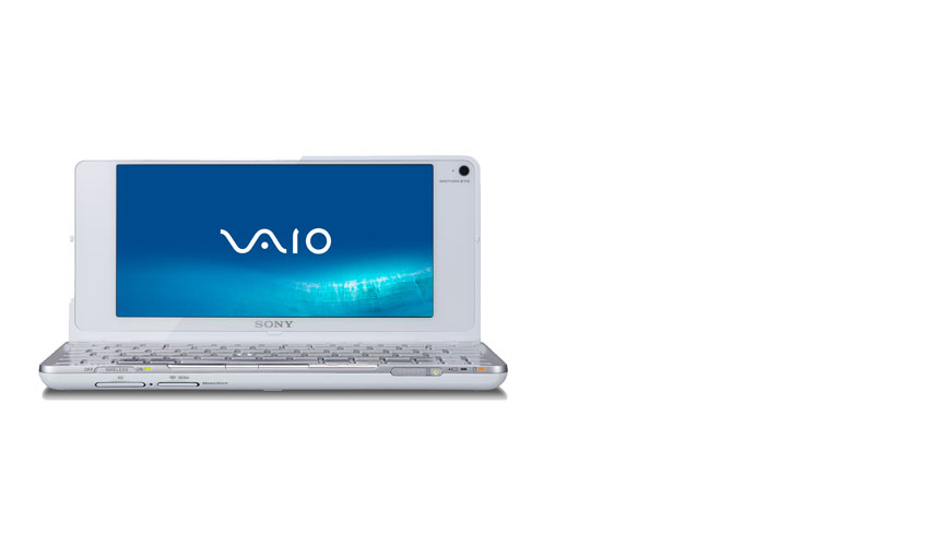 VGN-P688E/W Sony Vaio VGN-P688E/W-Atom Z520 1.33GHz 2048MB RAM-8INCH XBRITE-64GB Solid State HDD-WWAN-Built-In MOTION EYE Webcam-WIN VISTA-MFR