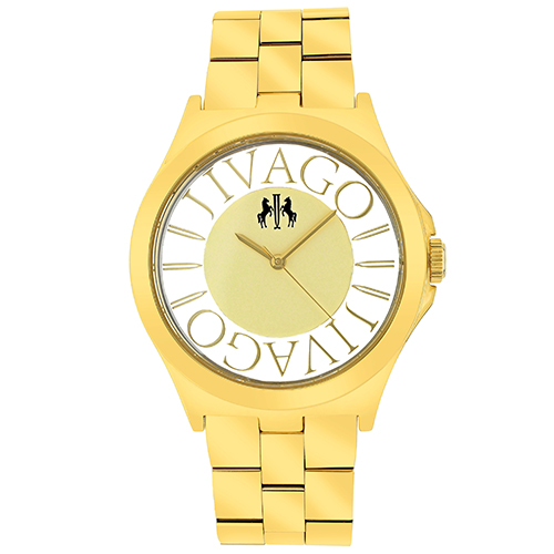 JV8414 Jivago Womens Fun Swiss  Quartz  Gold tone Band Gold tone Dial