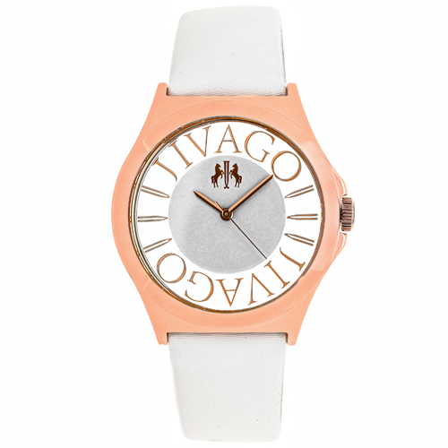 JV8434 Jivago Womens Fun White Band White Dial