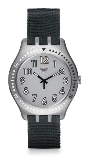 YTS100 Swatch Mens Irony Grey Band Grey Dial