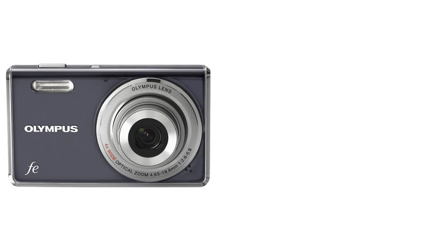 FE4000_GRY_2A OLYMPUS FE4000-12.0 MP- 4X ZOOM- 2.7in LCD THIN-GRAY