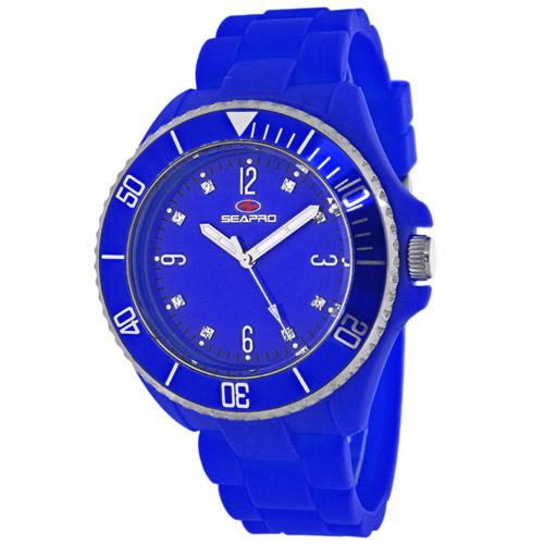SP7414 Seapro Womens Sea Bubble Blue Band Blue Dial