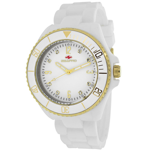 SP7411 Seapro Womens Sea Bubble White Band White Dial