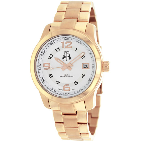 JV5215 Jivago Womens Infinity Rose Gold Band Silver Dial