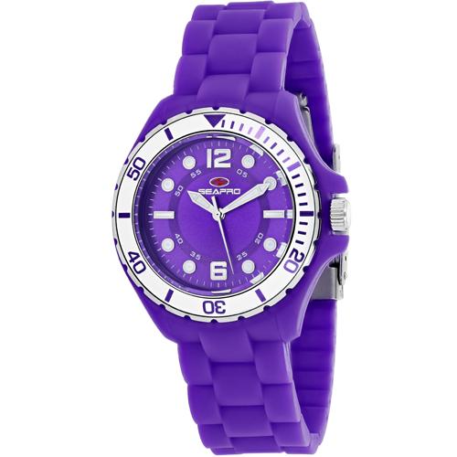 SP3216 Seapro Womens Spring Purple Band Purple Dial