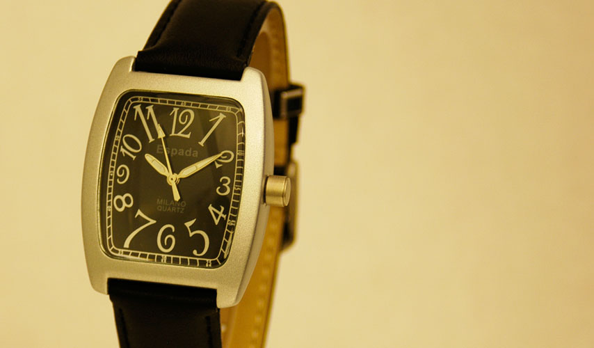 Espada Milano Black Quartz Watch